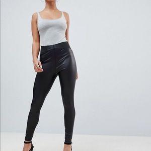28ce5bd74f4467 Women's Black Asos Leather Pants on Poshmark